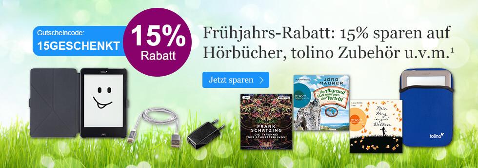 Ihr Gutschein 15GESCHENKT bei eBook.de - schnell einlösen.