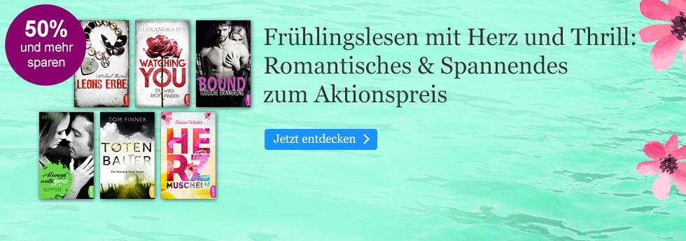 Frühlingslesen mit Herz und Thrill bei eBook.de