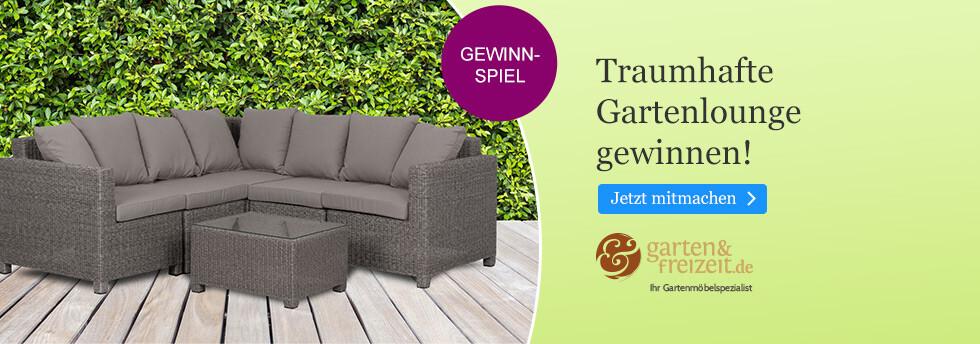 Gewinnen Sie eine Gartenlounge mit eBook.de