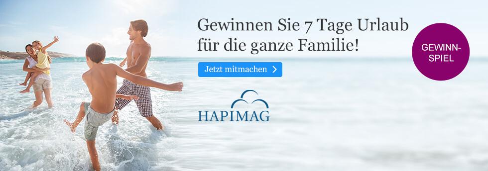Gewinnen Sie 7 Tage Hapimag Urlaub mit der ganzen Familie bei eBook.de