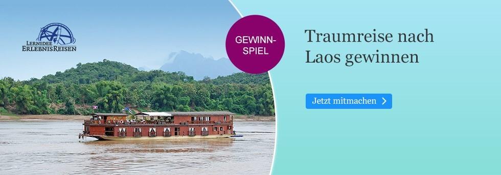 Gewinnen Sie eine Reise nach Laos mit eBook.de