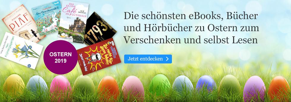 Die besten eBooks und noch mehr zu Ostern bei eBook.de