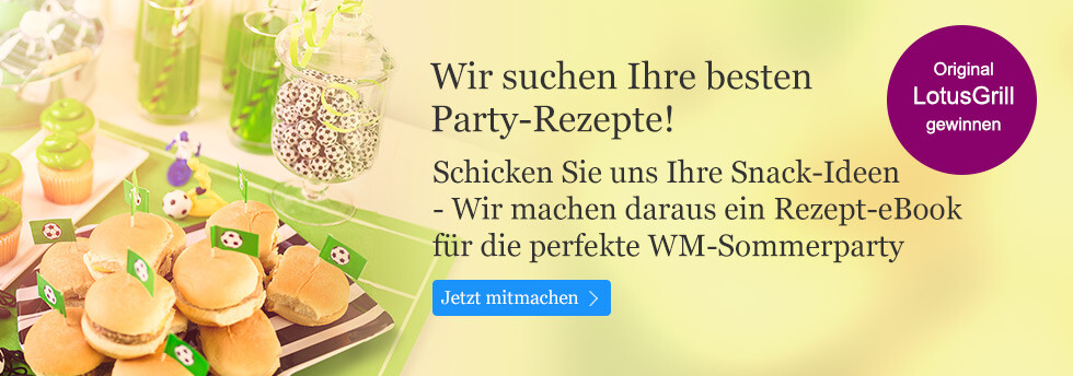 Die eBook.de-Rezeptedition: Wir suchen Ihre besten Party-Rezepte!