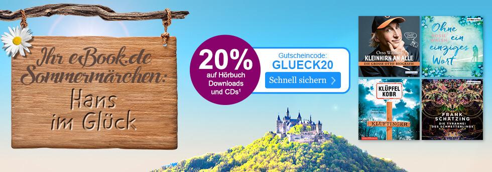 Hans im Glück: 20% auf Hörbücher beim eBook.de Sommermärchen