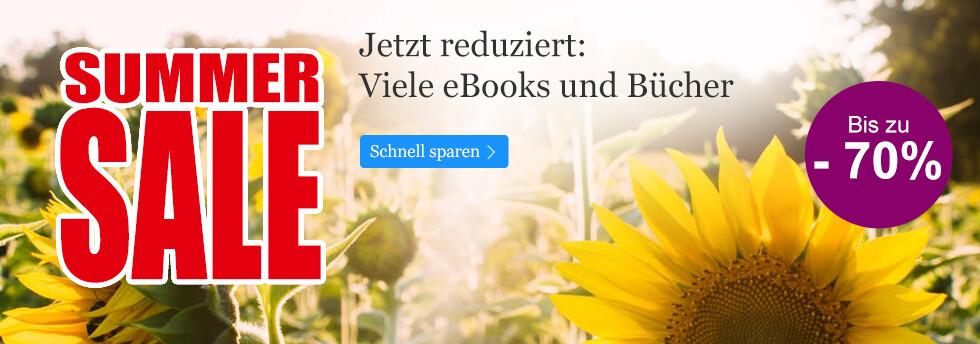Entdecken Sie die Schnäppchen im Summer SALE bei eBook.de