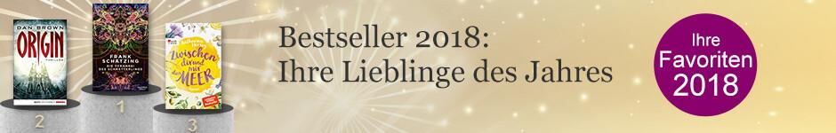 Die Jahresbestseller 2018 bei eBook.de