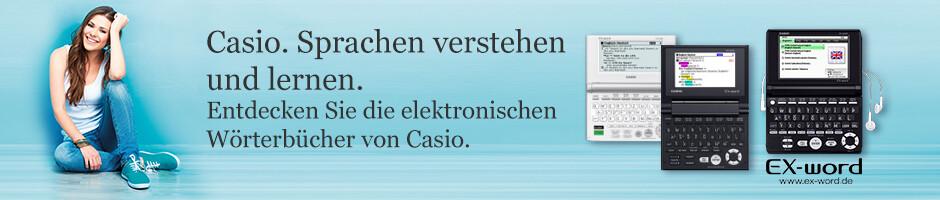 Casio: Elektronische Wörterbücher