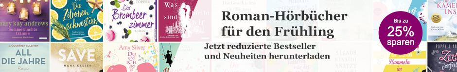 Jetzt reduziert bei eBook.de: Schöne Roman Hörbuch Downloads