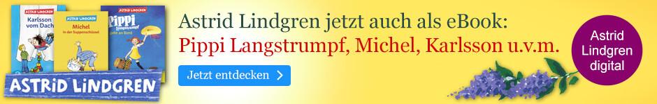 Astrid Lindgren-Klassiker bei eBook.de - jetzt auch als eBook