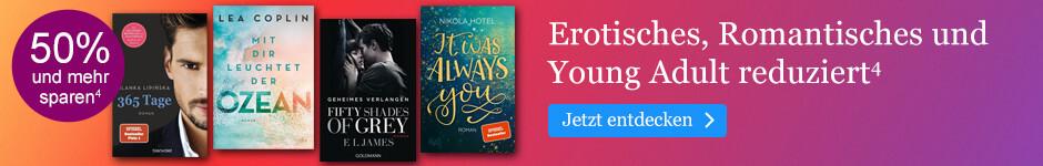 Verliebt in den Christian Grey-Juni: Erotisches, Romantisches und Young Adult reduziert bei eBook.de