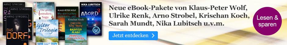 Viel eBook für wenig Geld - neue eBook-Pakete bei eBook.de