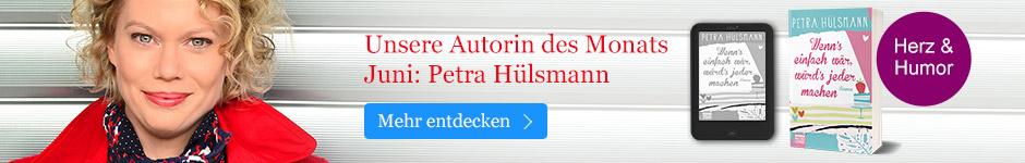 Unsere Autorin des Monats: Petra Hülsmann