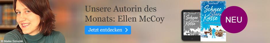 Unsere Autorin des Monats Dezember: Ellen McCoy