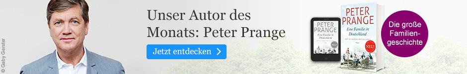 Unser Autor des Monats November: Peter Prange