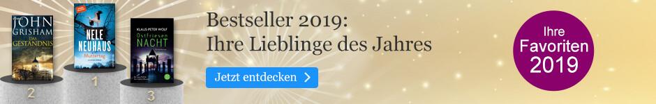 Die Jahresbestseller 2019 bei eBook.de