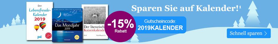 Winter Sale bei eBook.de - sparen Sie 15% auf alle Kalender!