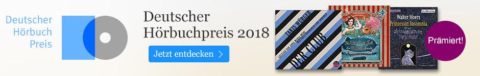 Die besten Hörbücher: Deutscher Hörbuchpreis 2018 bei eBook.de