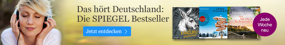 Die SPIEGEL Bestseller Hörbuch bei eBook.de entdecken