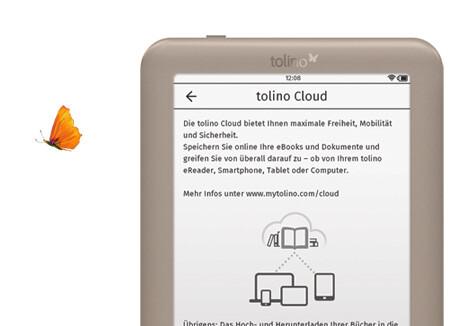 tolino page mit cloud