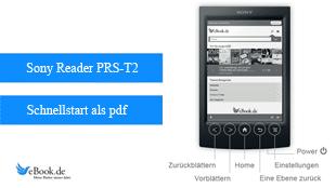 PDF-Schnellstart PRS-T2