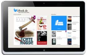 eBook.de READER APP für Windows 8