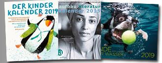 Kalender für 2019 bei eBook.de