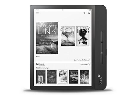 tolino epos 2: Freie Wahl, wo Sie Ihre eBooks erwerben