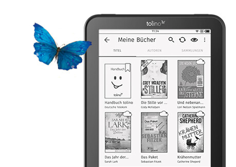 tolino vision 4 HD mit Riesenauswahl an eBooks