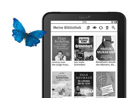 tolino vision 3 HD mit Riesenauswahl an eBooks